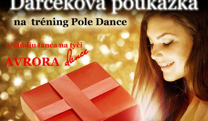Darčeková poukážka Avrora Dance