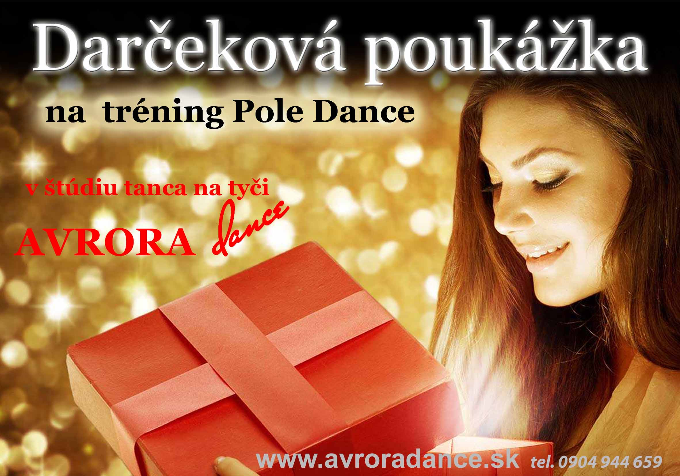 Darčeková poukážka Avrora Dance