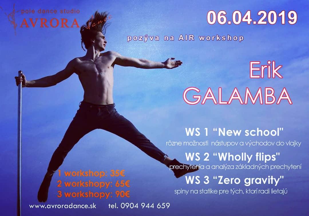 Workshop Erik Galamba